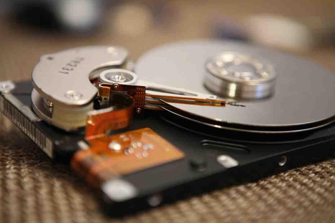 Comment changer le plateau d'un disque dur ?